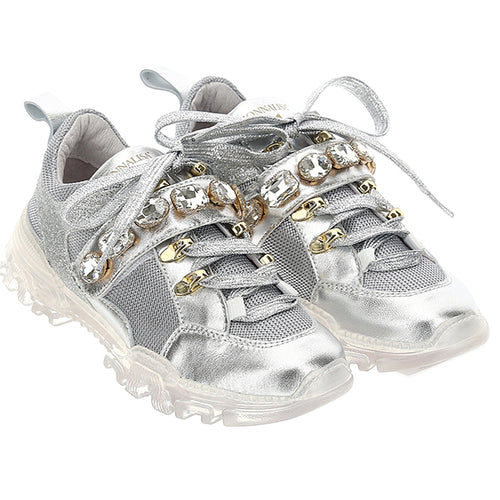 Silver Gem Trainers