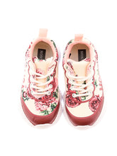 Load image into Gallery viewer, Pink Floral Trainers