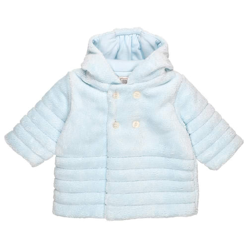 Blue Soft Fleece Jacket