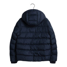 Load image into Gallery viewer, Navy Hooded Puffer Jacket