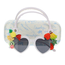 Load image into Gallery viewer, White Heart Shape Fruit Sunglasses