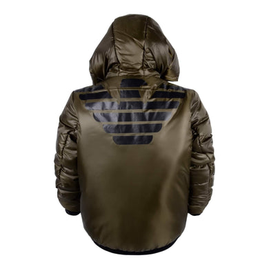 Emporio Armani Boys Sale Black or Olive Reversible Jacket