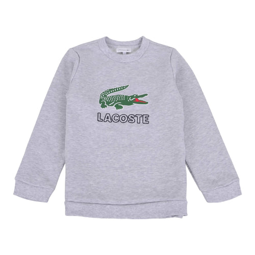 Grey Crocodile Sweat Top