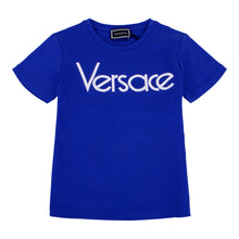 Load image into Gallery viewer, Blue Logo T-shirt