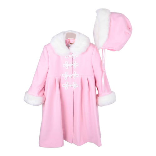 Pink Coat & Hat Set