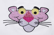 Load image into Gallery viewer, Ivory Pink Panther Embellished Top