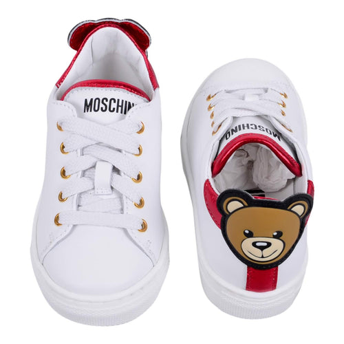 Moschino Baby Shoe Sale White Toy Trainers