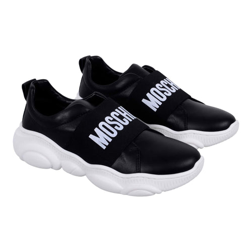 Black Slip On Trainer