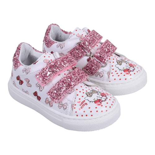 Monnalisa Sale White Hello Kitty Trainers
