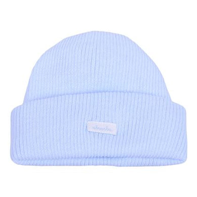 Baby Blue Ribbed Hat