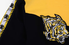 Load image into Gallery viewer, Black & Yellow Zip Up Hoodie