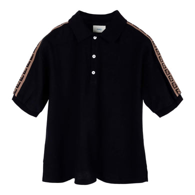 Black FF Polo Shirt