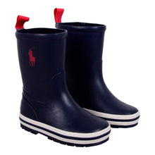 Load image into Gallery viewer, Ralph Lauren Boys Sale Navy 'Kelso'  Wellie