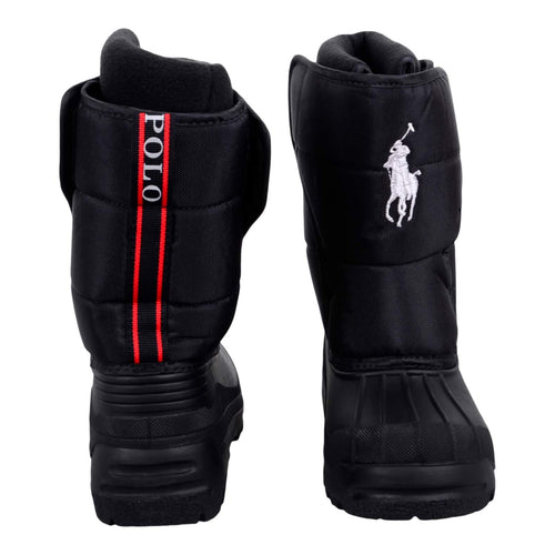 Ralph Lauren Boys Sale Black 'Hamilten' Snow Boot
