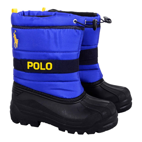 Ralph Lauren Boys Sale Royal Blue 'Tucker' Snow Boot