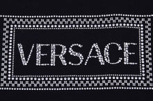 Load image into Gallery viewer, Black Young Versace Embellished T-shirt
