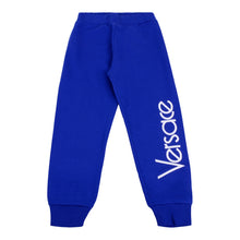 Load image into Gallery viewer, Blue Logo Sweat Pants