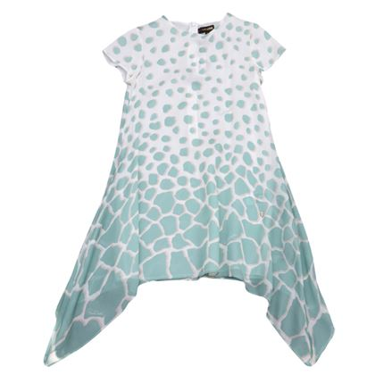 Silk Pastel Giraff Dress