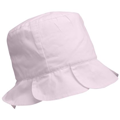 Pink Pleated Sun Hat