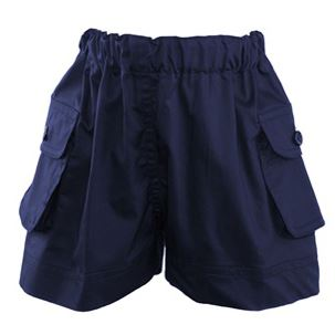Navy Pocket Shorts