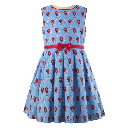 Blue Kite Dress