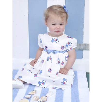 Ivory Donkey Dress & Bloomers