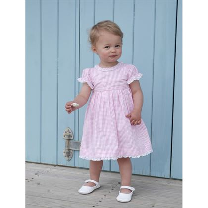 Pink Gingham Dress & Bloomers
