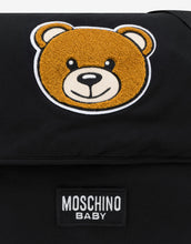 Load image into Gallery viewer, Moschino Baby Black Toy Baby Bag & Mat