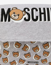 Load image into Gallery viewer, Moschino Baby Grey Toy Baby Bag & Mat