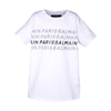 Boys White Multi Logo T-Shirt
