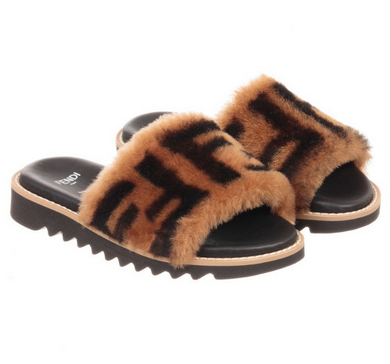 Brown Fur FF Sliders