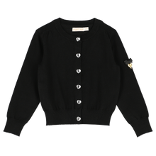 Load image into Gallery viewer, Black 'Bernadette' Cardigan