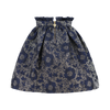 Navy & Gold 'Bridge' Skirt