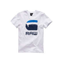 Load image into Gallery viewer, White & Blue G-Raw T-Shirt