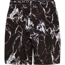 Load image into Gallery viewer, Black Marble Sweat Shorts