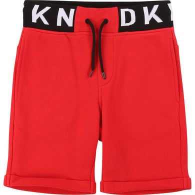 Red Logo Sweat shorts