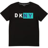Black & Teal Logo T-Shirt