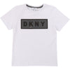 White Logo Boys T-Shirt