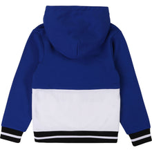 Load image into Gallery viewer, Blue & White NY Hoodie