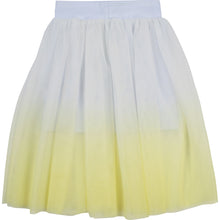 Load image into Gallery viewer, Yellow & White Layered Skirt