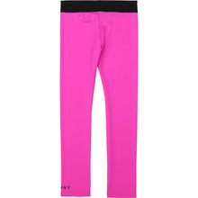 Load image into Gallery viewer, Fuschia Pink Logo Leggings