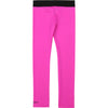 Fuschia Pink Logo Leggings