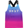 Purple Blended Logo Vest Top