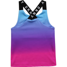 Load image into Gallery viewer, Purple Blended Logo Vest Top