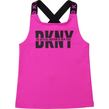 Load image into Gallery viewer, Fuschia Pink Logo Vest Top