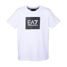 Load image into Gallery viewer, White & Black Square EA7 T-Shirt
