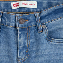 Load image into Gallery viewer, Light Blue Skinny Taper Jeans