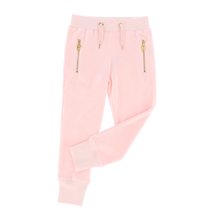 Load image into Gallery viewer, Pink 'Hannah' Velour Sweat Pants