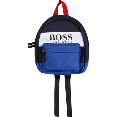 Navy & Blue Logo Backpack