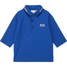 Load image into Gallery viewer, Royal Blue LS Polo Shirt